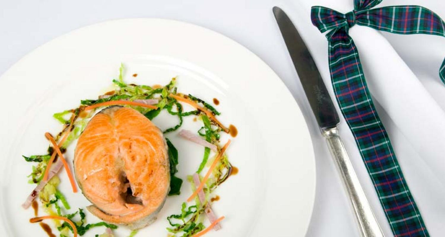 Scottish seafood at The Airds