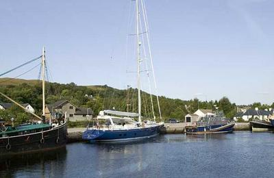 Assorted boats at Corpach