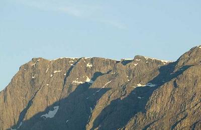 North Face summit ridge