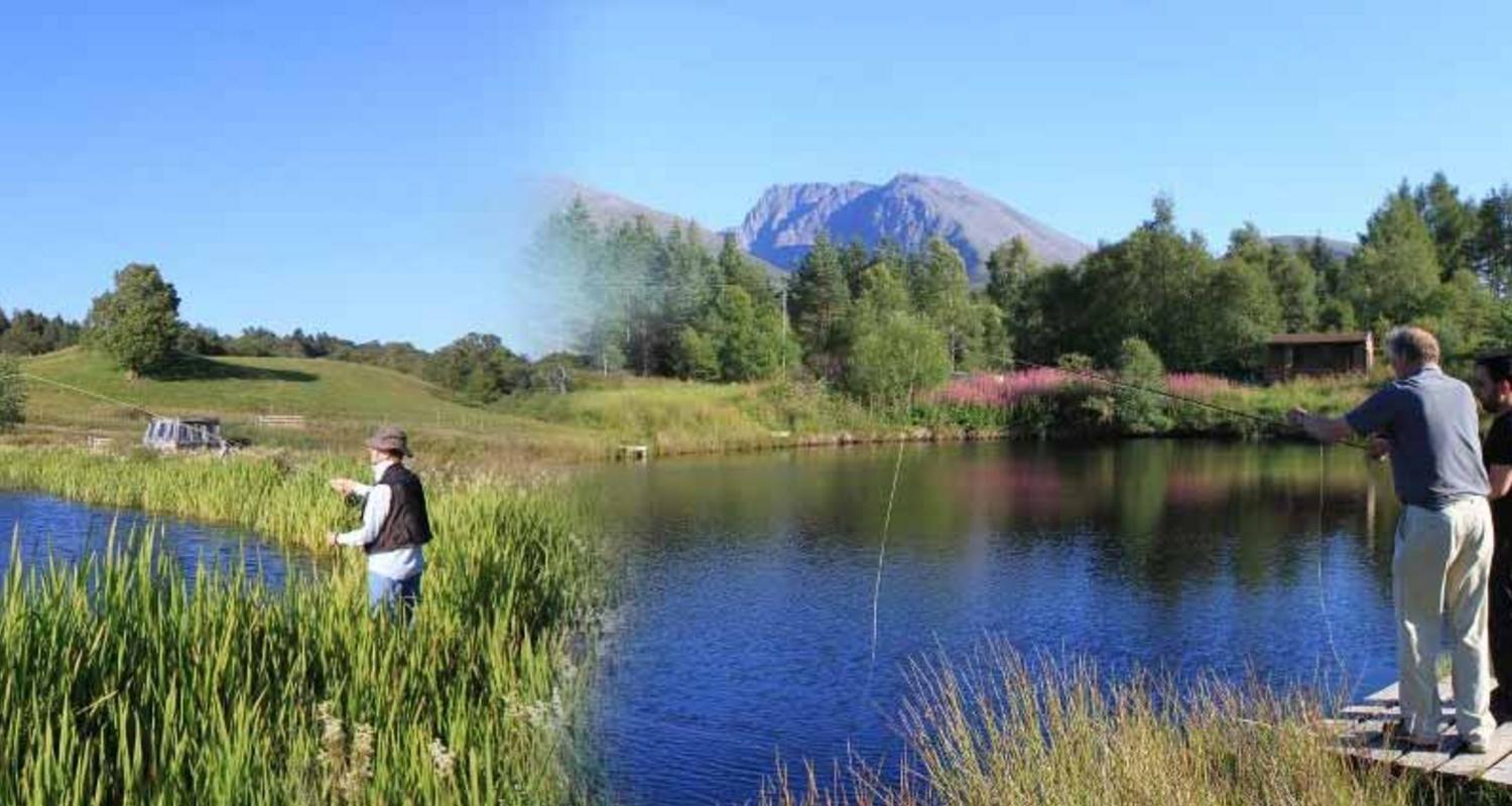 Fly fishing Fort William