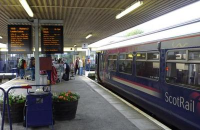 ScotRail operate on the West Highland Line