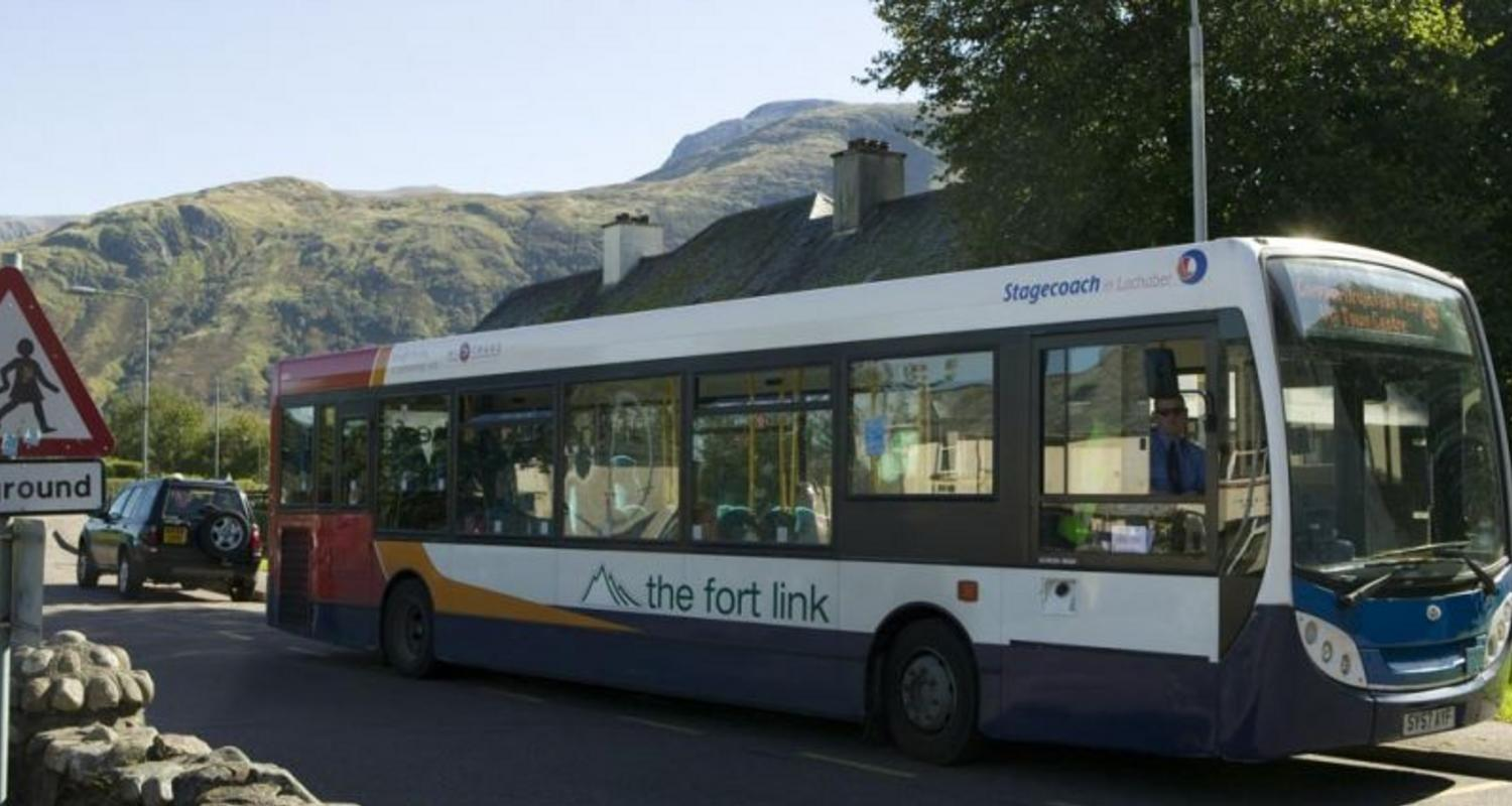 The Fort Link in Inverlochy