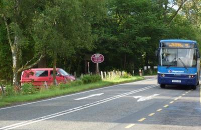 Stagecoach bus at Torlundy
