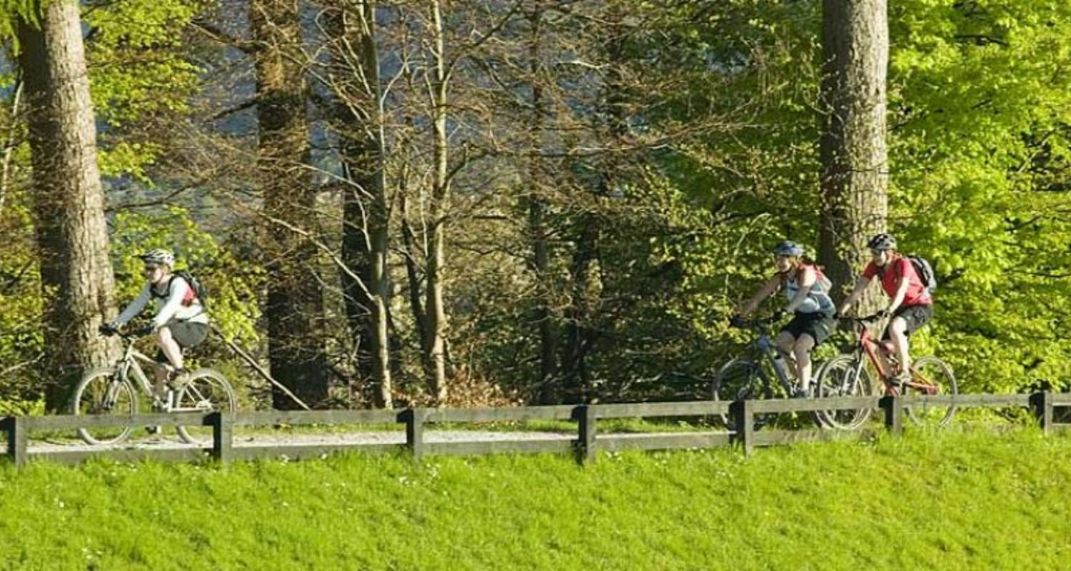 Cycling in the outdoor capital of the UK