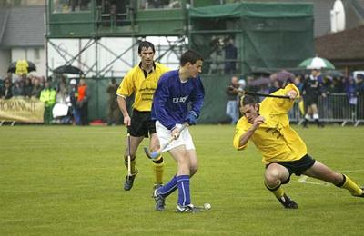 Shinty in Fort William