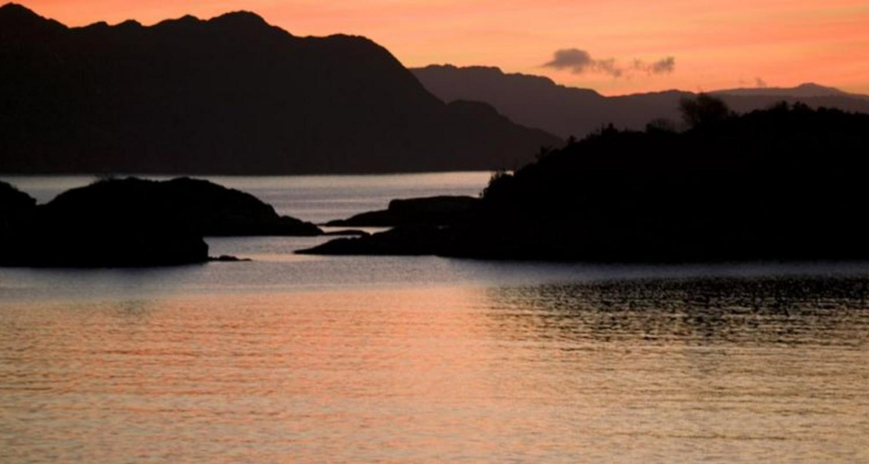 Sunset over Isle of Rum