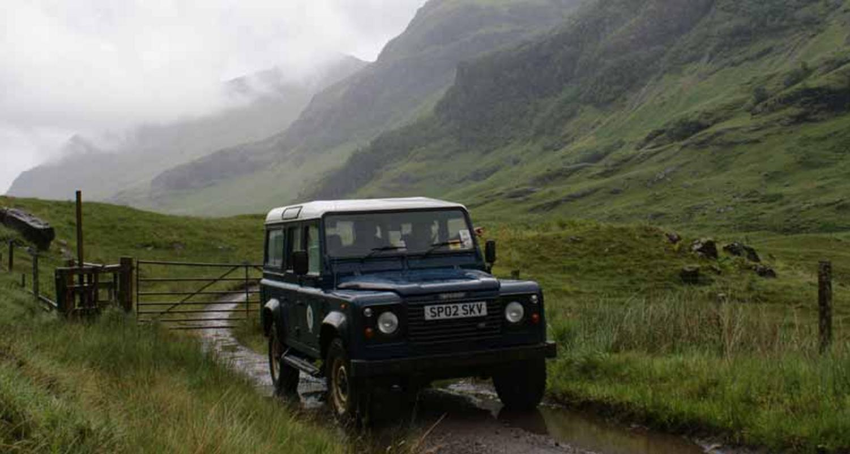 Land Rover safaris in Glencoe