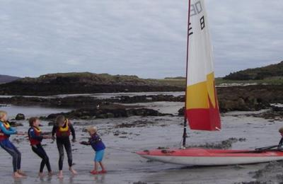 Sailing at Arisaig