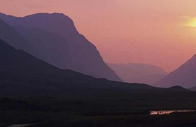 Sunset in Glencoe
