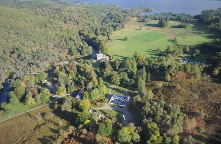 Medium large achnacarry estate