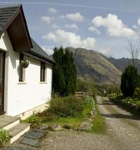 Enjoy a lovely 4 star cottage with just the most amazing views. Our Glencoe self catering holiday cottages are wonderfully situated a mile up a sec...