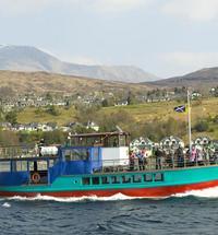 Crannog Cruises on Loch Linnhe, Fort William