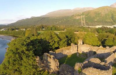Old Inverlochy Castle Ruin