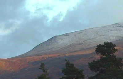 New snow on Aonach Mor